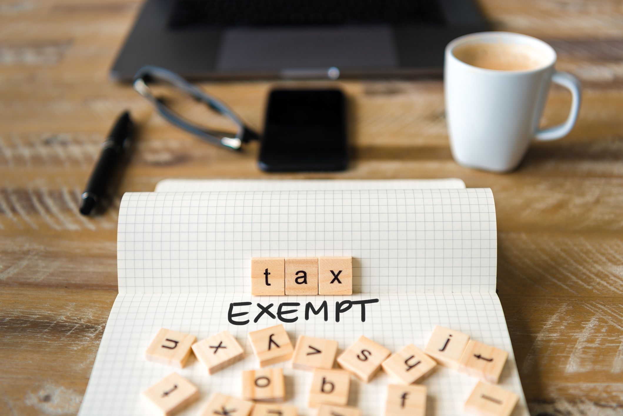Legal Requirements Tax Exempt Outside GC