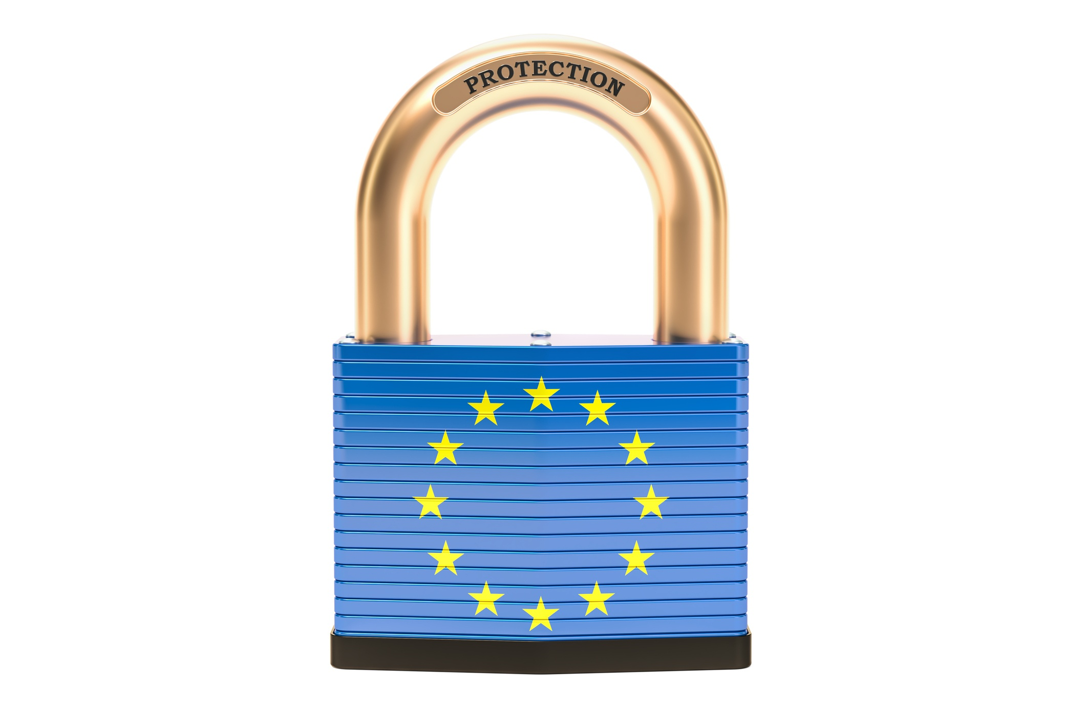 Protection-concept,-flag-of-the-EU-with-padlock.-3D-rendering-946296256_2125x1416